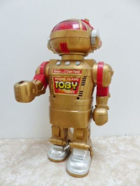 1980s robot toy by Kate Beavis