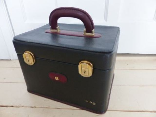 vintage 1980s Pierre Cardin luggage by Kate Beavis