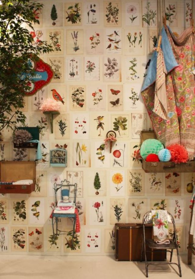 vintage wallpaper ideas from Kate Beavis 2