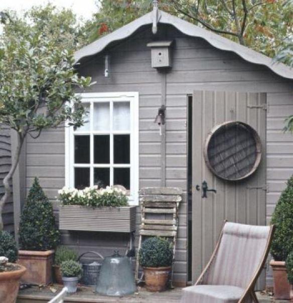 Grey outdoor interior design ideas from Kate Beavis