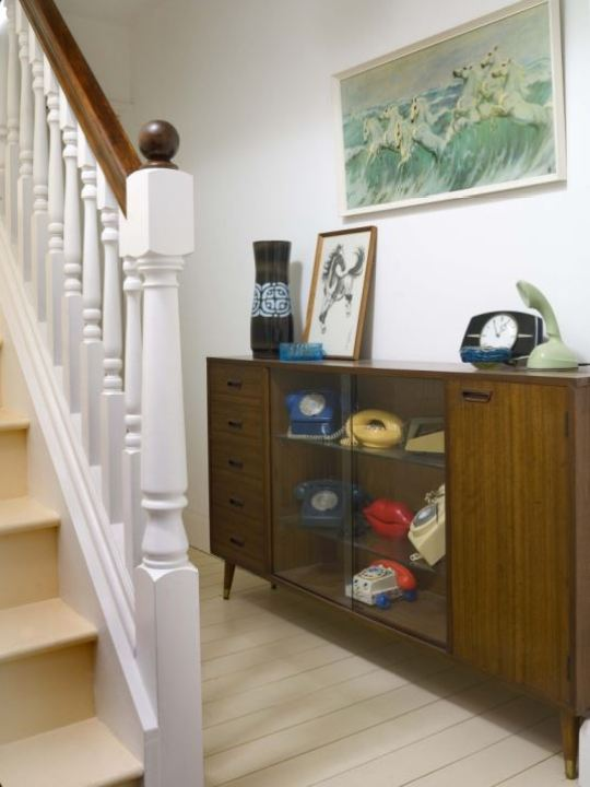 vintage hallway by Kate Beavis