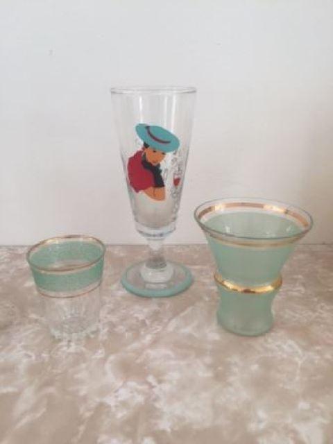 Vintage glasses by Kate Beavis