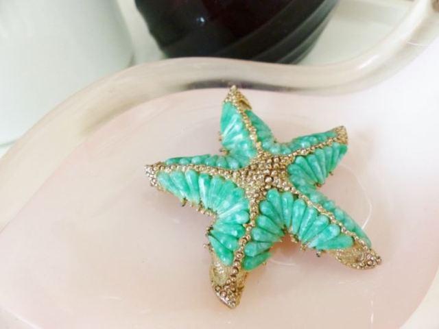 Vintage starfish brooch by Kate Beavis