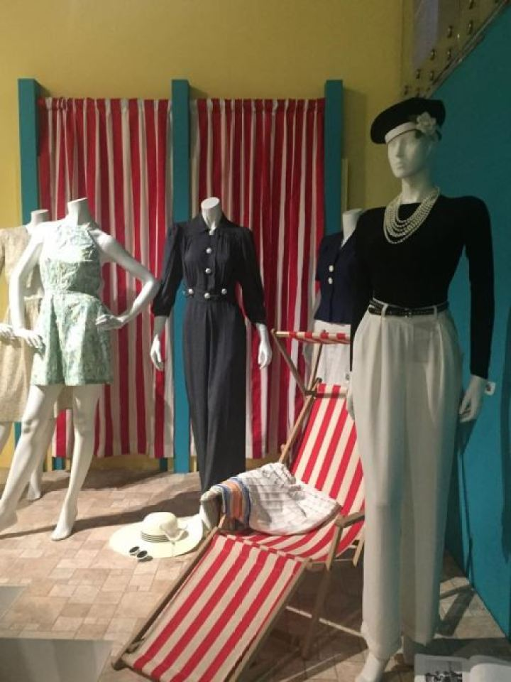 Vintage 1920s 1930s  swimwear swimming costumes as featured on Kate Beavis Vintage Blog (from the F&T museum)