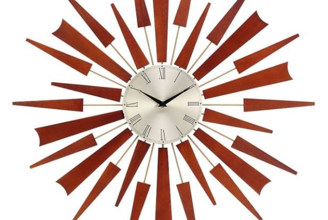 Marks and Spencer starburst clock