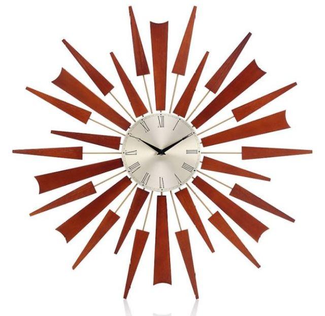 Marks and Spencer starburst clock
