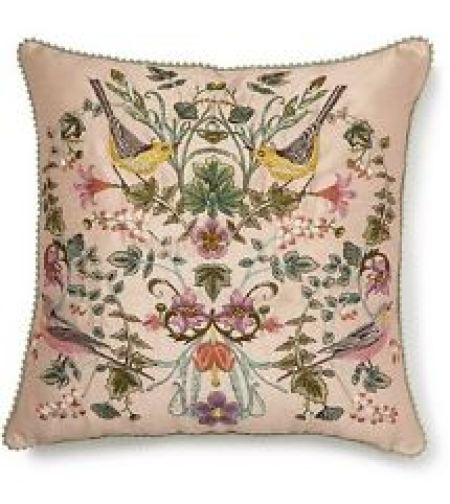 Vintage style cushion from M&S as featured on Kate Beavis Vintage Home blog