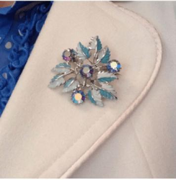 Vintage Brooch Club as seen on Kate Beavis VIntage Home blog
