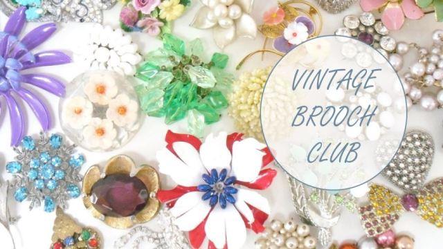 Vintage Brooch Club