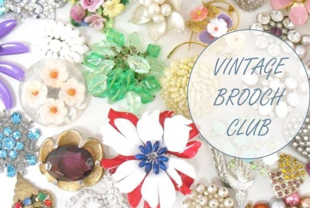 Vintage Brooch Club
