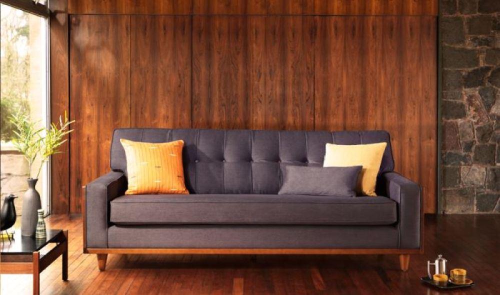 G Plan sofa as featured on Kate Beavis Vintage Home blog
