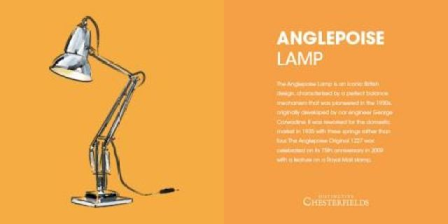 Anglepoise lamp as featured on Kate Beavis.com