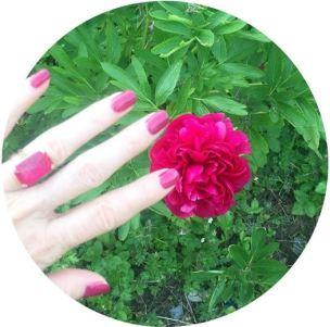 Peonies and nail varnish