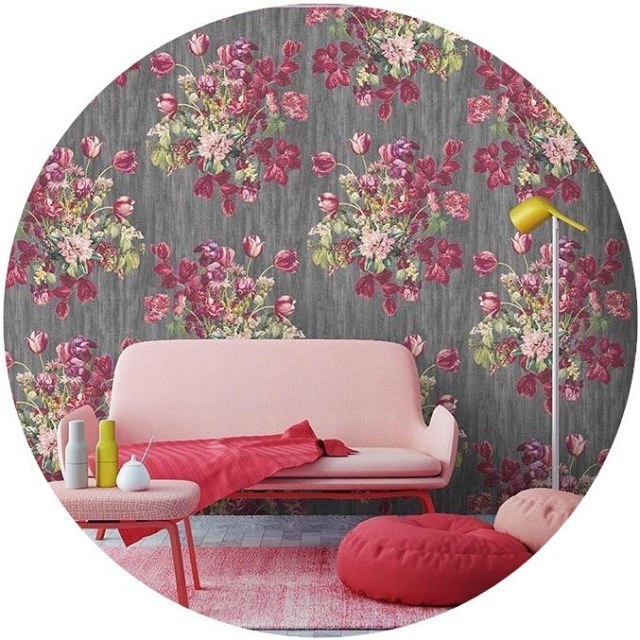 Planning my bedroom makeover  I really love this wallpaperhellip