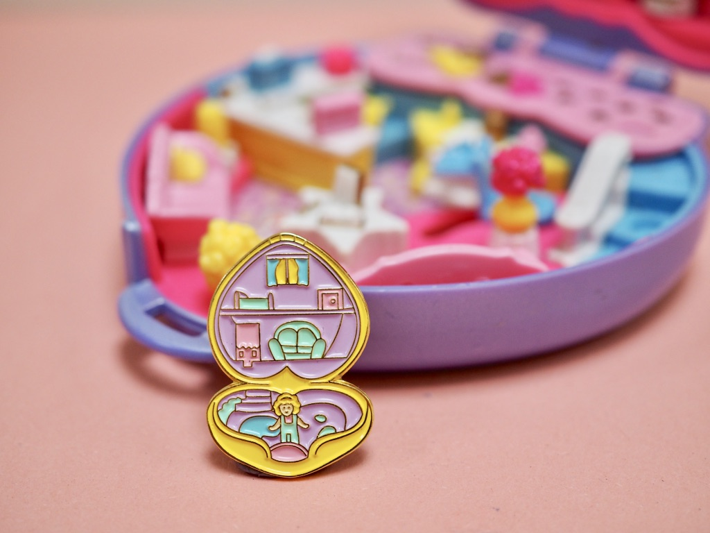 Polly Pocket Vintage Pin