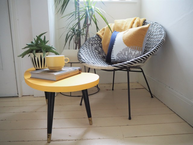 How to make a 1950s style vintage kidney table