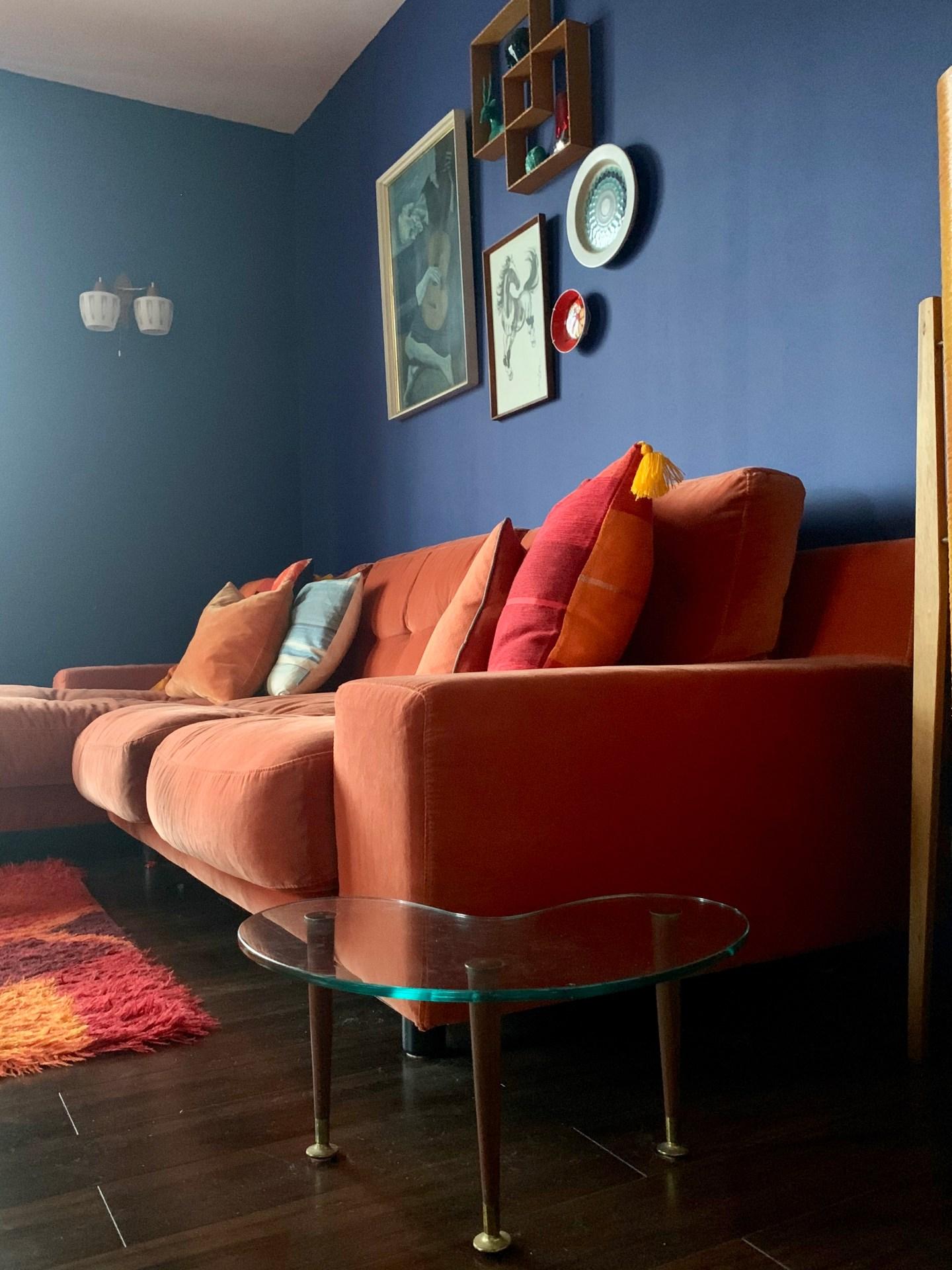 Mid Century Lounge Living Room
