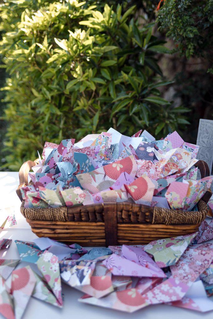 paper airplane confetti
