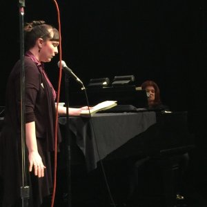I was one of six terrified writers asked to do Tune In Time! at the York Theatre on March 14th, 2016! We had 20 mins to create a song based on suggestions from the audience, and never has 20 minutes gone faster than in that writer's room. Here's the article from broadway world. http://www.broadwayworld.com/off-broadway/article/TUNE-IN-TIME-Returns-to-York-Theatre-Company-Next-Week-20160310