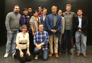 My class at NYU at Mark Adamo in our opera master class.