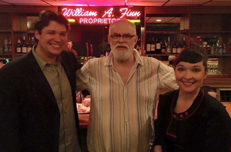 John Blaylock, Bill Finn, and me.