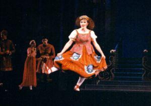Ugly Stepsister in the ballet, Cinderella.