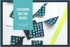 Exploring Quilting Basics: the Ocean Waves quilt block