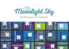 Moonlight Sky- A new batik line and a giveaway!