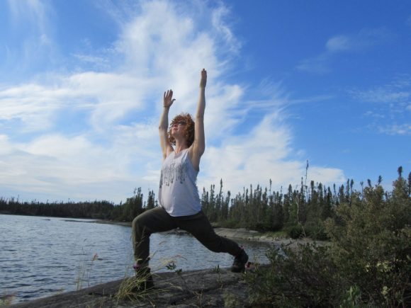 Yoga on the Taiga