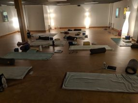 Restorative Yoga Yellowknife Yoga Teacher Training Land and Heart Practice