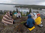 Yellowknife Yoga Teacher Training Land and Heart Practice