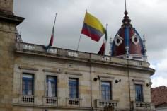 Plaza en centro, Zipaquirá