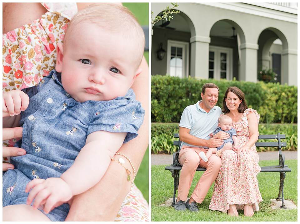 Family Session in I'on Mount Pleasant, SC