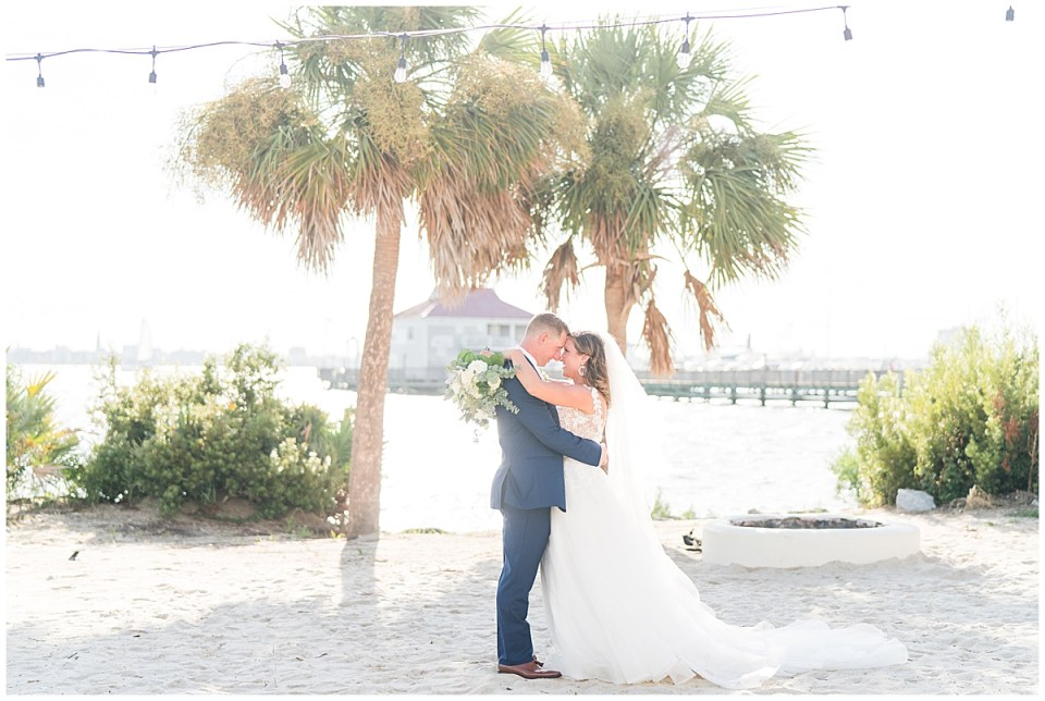 Charleston Harbor Resort Outdoor Beach Wedding Charleston Wedding Photographer_0038.jpg