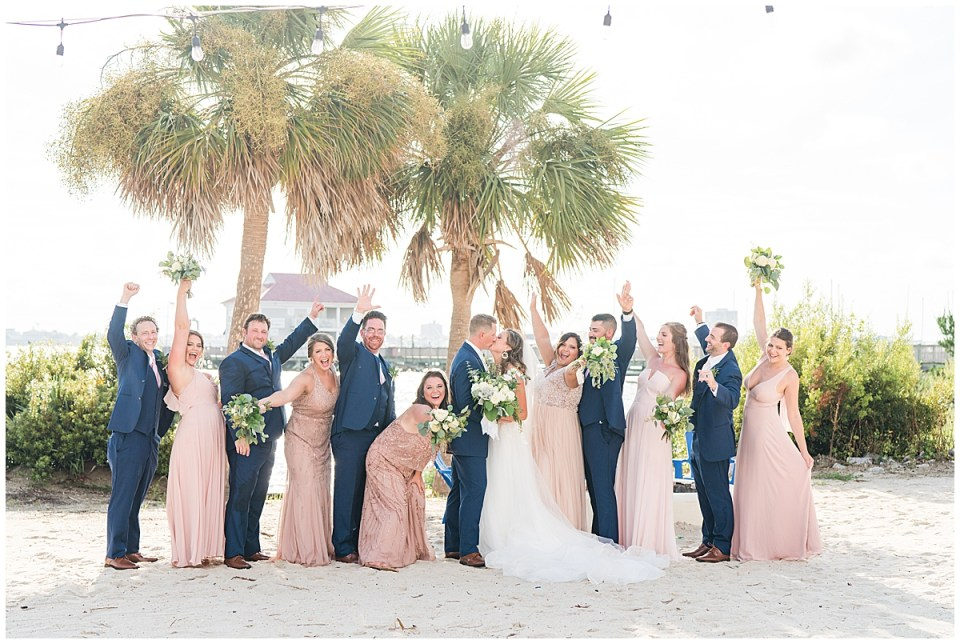 Charleston Harbor Resort Outdoor Beach Wedding Charleston Wedding Photographer_0039.jpg