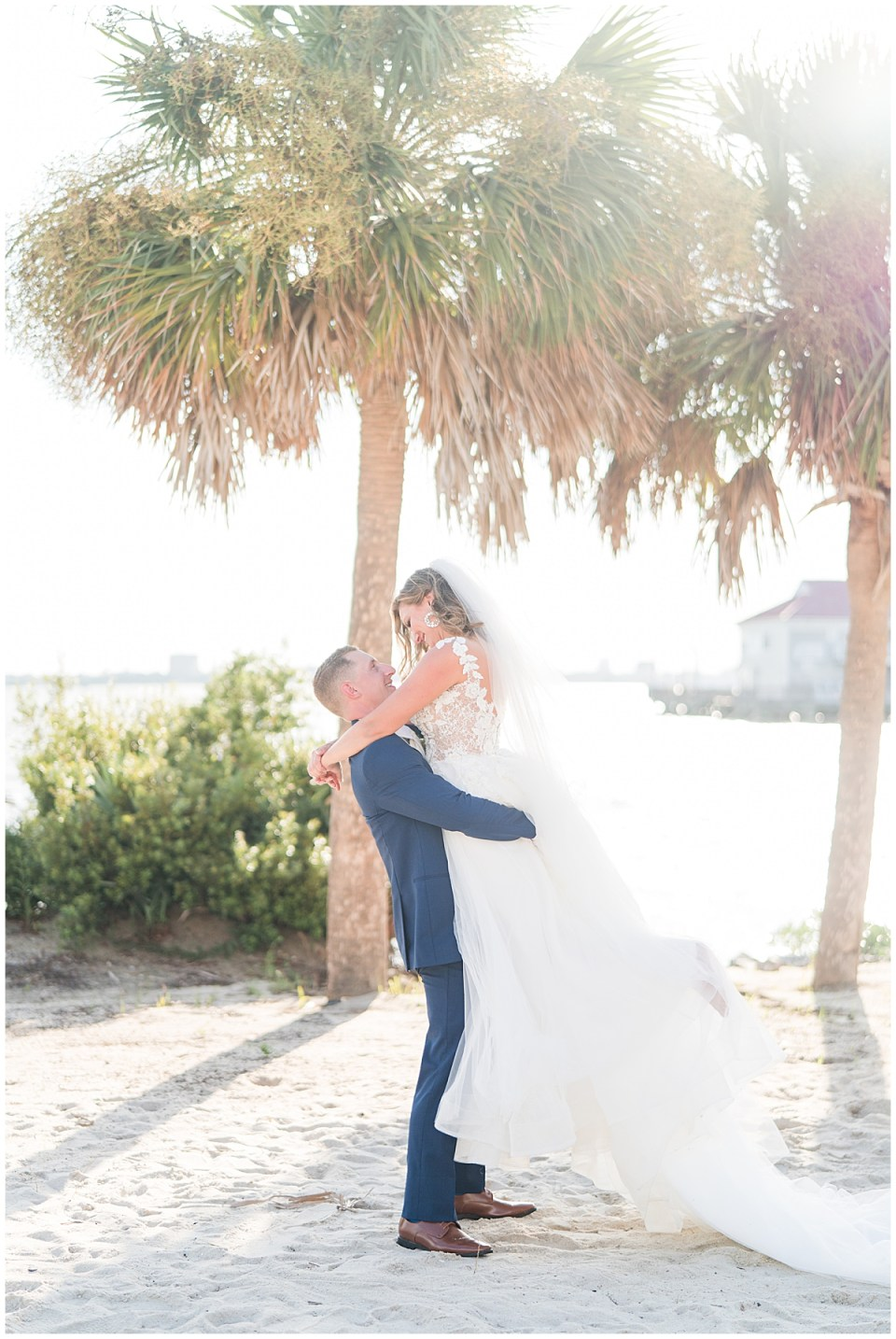 Charleston Harbor Resort Outdoor Beach Wedding Charleston Wedding Photographer_0047.jpg