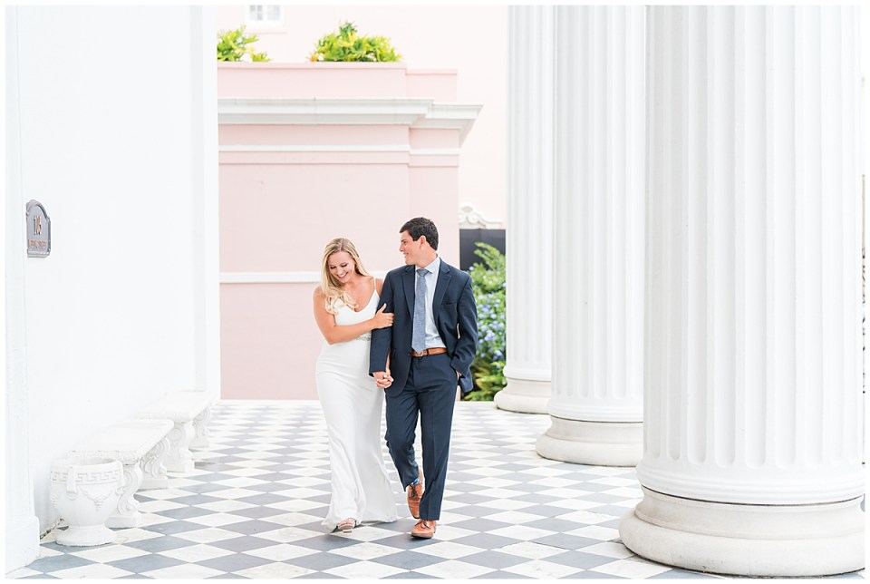 Downtown Charleston Outdoor Engagement Session