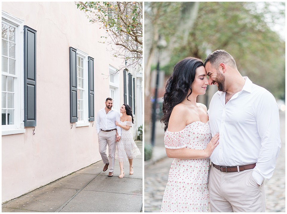 Outdoor Downtown Charleston Engagement Session_0006.jpg