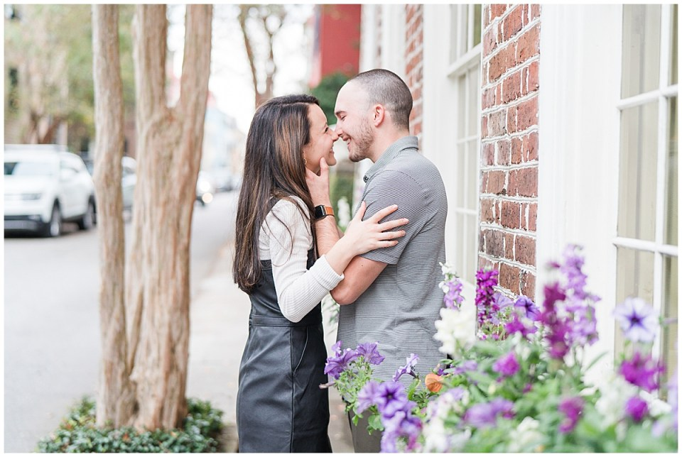 Outdoor Downtown Charleston Engagement Session_0020.jpg