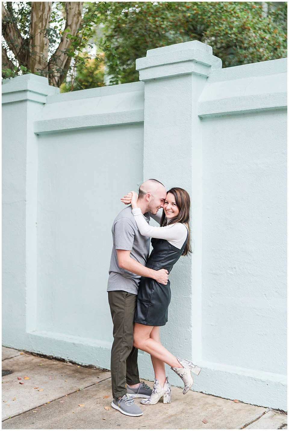 Outdoor Downtown Charleston Engagement Session_0021.jpg
