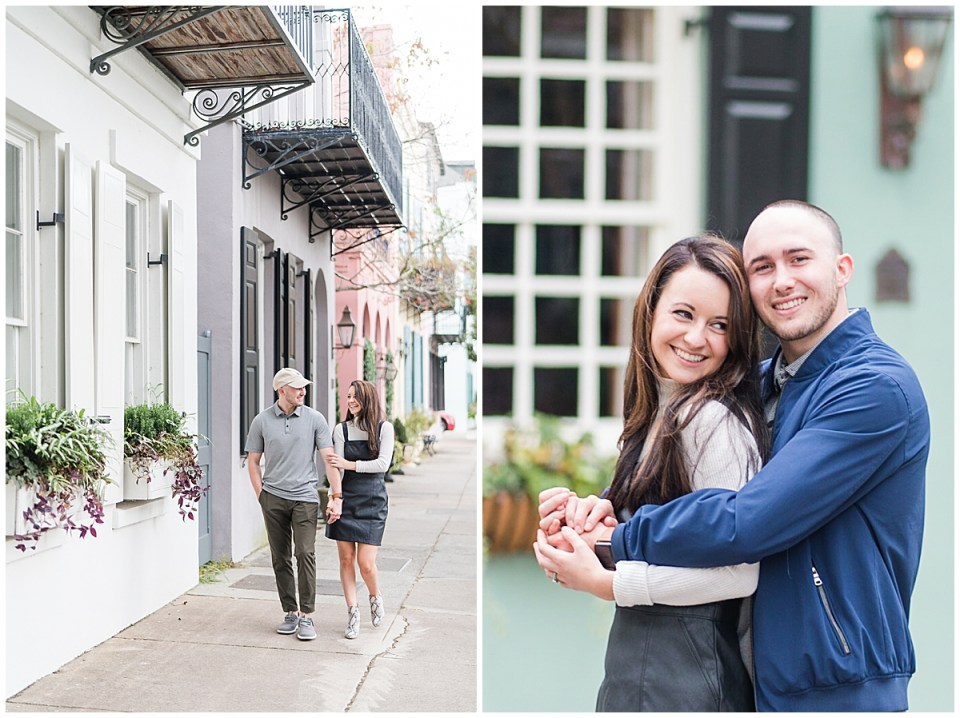 Outdoor Downtown Charleston Engagement Session_0022.jpg