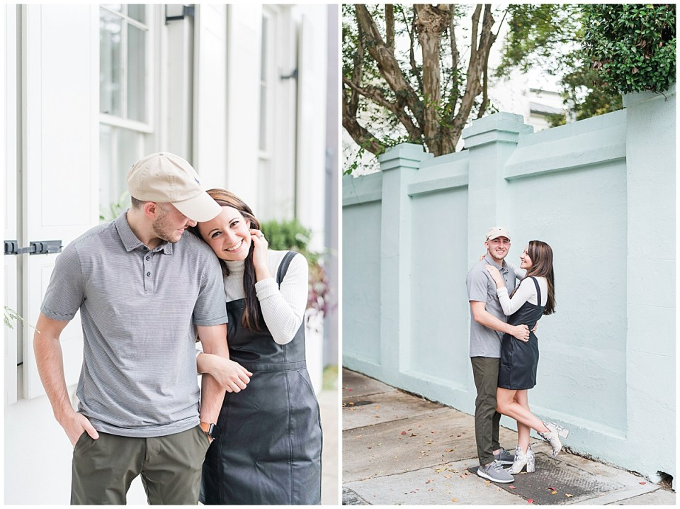 Outdoor Downtown Charleston Engagement Session_0028.jpg