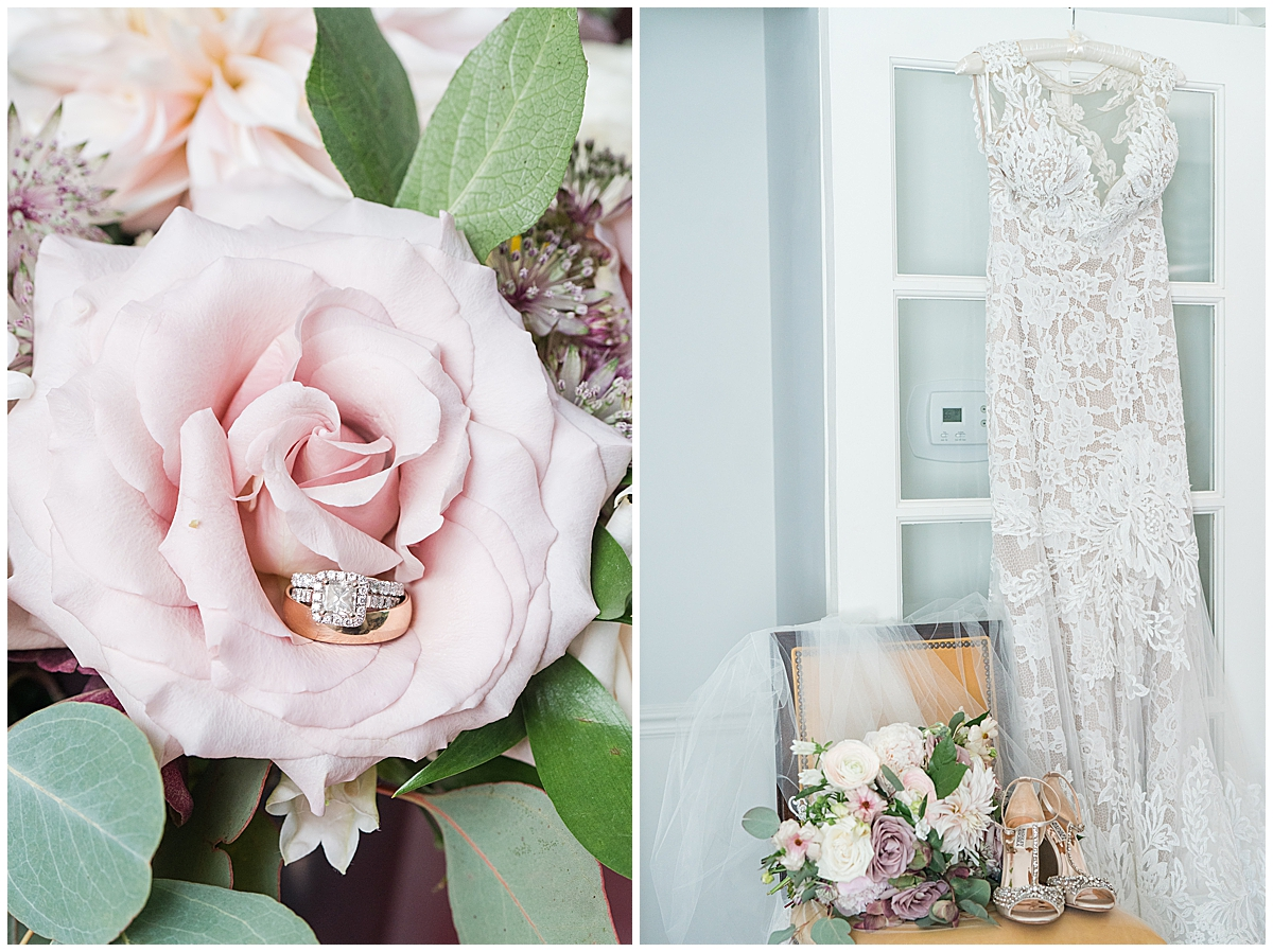 bride's details for Runnymeade Plantation Charleston wedding