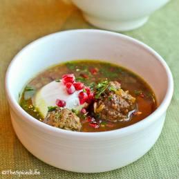 pomegranate-soup