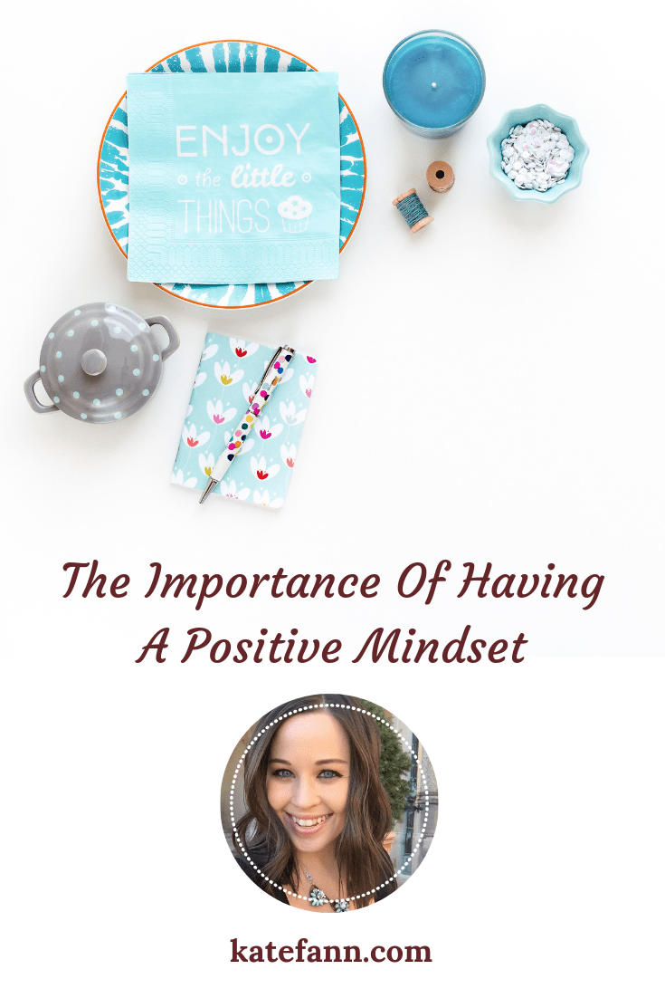 Having a positive mindset is one of the greatest assets a writer can have.