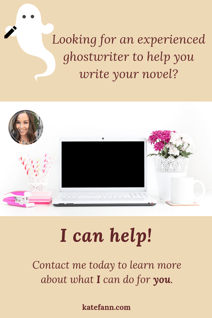 Looking for a ghostwriter or content writer? I can help you! Contact me today to learn more about my services, access my fair pricing, and check out samples of my work. I want to help you today. It\'s my passion!