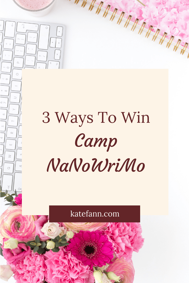 Another Camp NaNo has arrived and I want to make sure you crush your word count goal. Using these tips, you will be able to win this challenge!