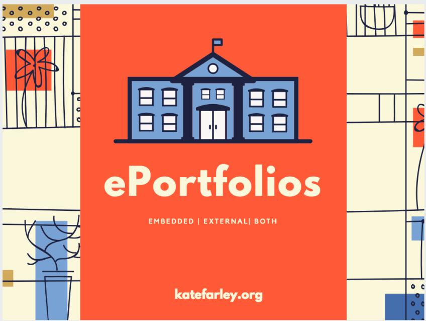 ePortfolios: Embedded | External | Both?