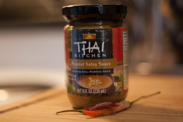 Thai, peanut satay sauce, asian food