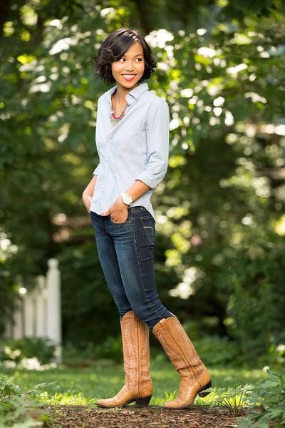 Kate Style Petite, Chambray, Denim, Cowboy Boots, J Crew